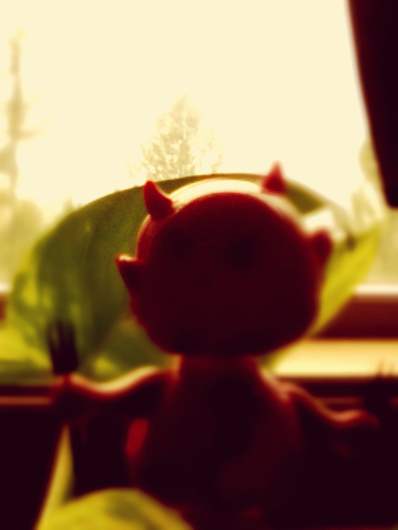 Little Devil dancing in the window Something Different From A Different Perspective Art Color Photography Art Photography Original Photography Unusual Photography Photographic Love Fast Through A Slow-motion Landscape