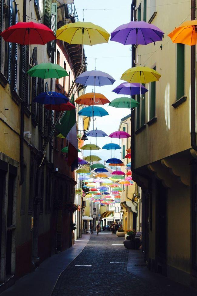 Ombrella☂️ Colors Ombrelli Streetphotography Arcobaleno  Fotografia -CM