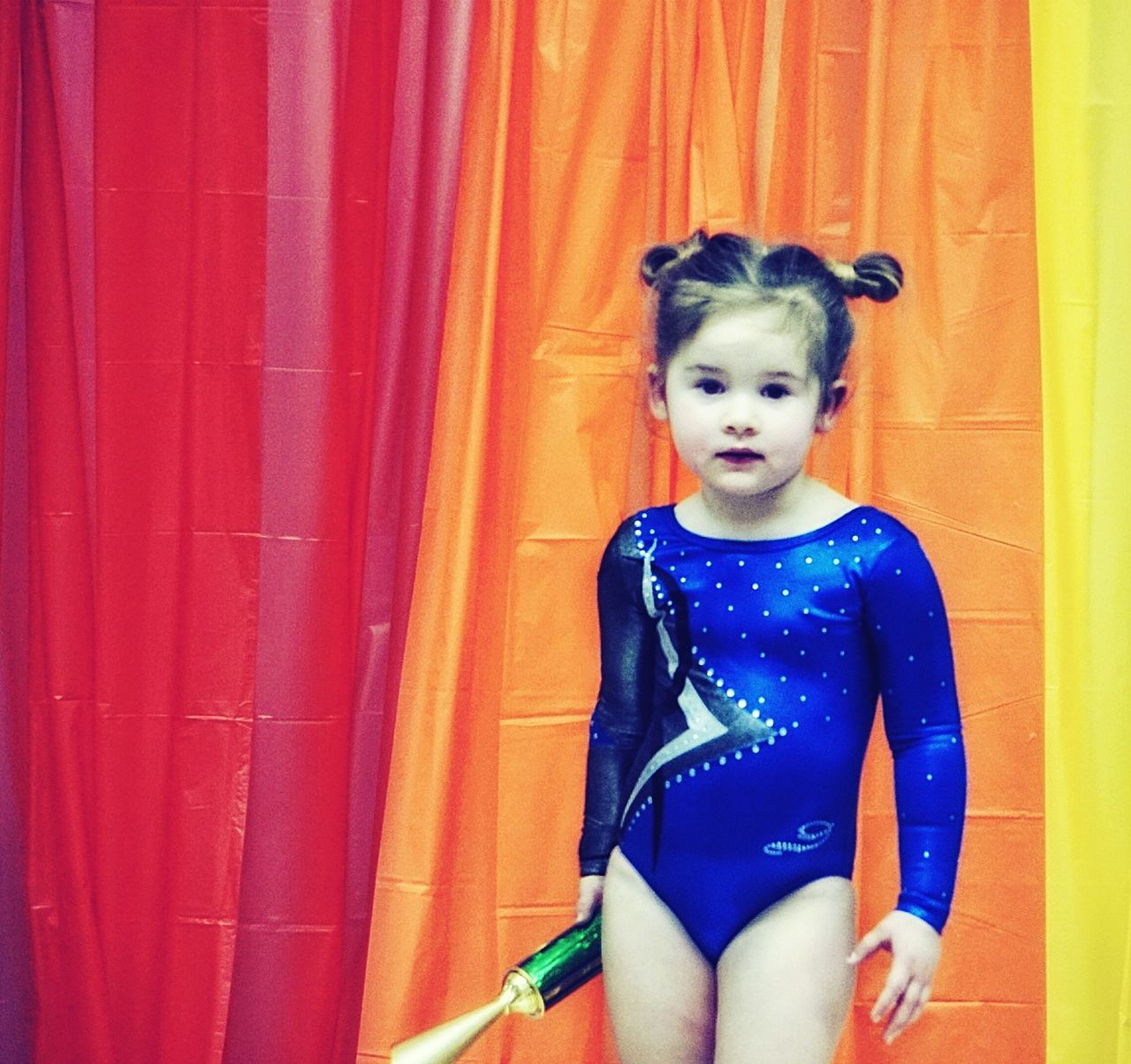Young tumbler Girl Trophy Leotard Days ❤ Sweetie Competing