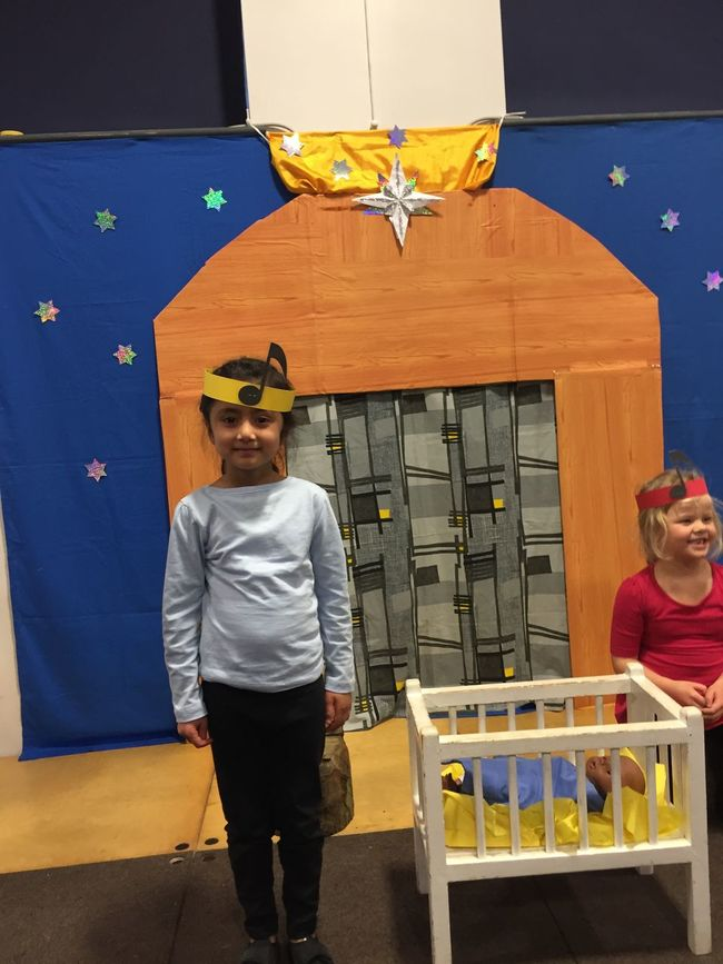 Amelia Miah School Play