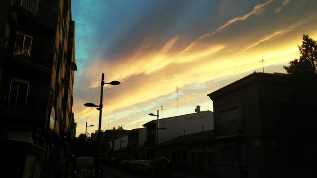 Atardecer En La Ciudad Atardecer Sunset Sunset And Clouds  Atardecer Con Nubes Sunset In The City  Valencia, Spain Torrent Spain ✈️🇪🇸