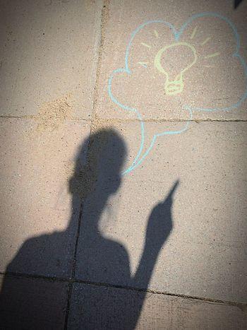 Shadow Ideas Eureka Fun Creativity Chalk Fooling Around Kidsphotography