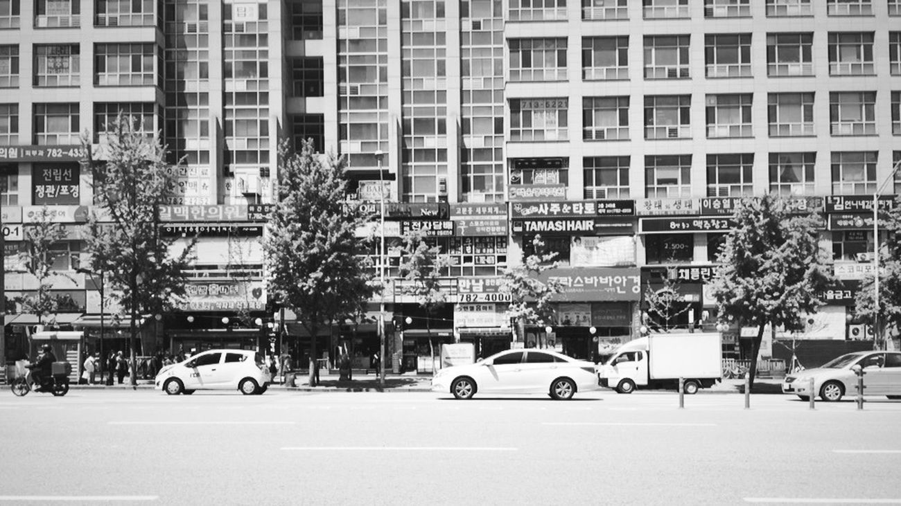 Black and white Migeum Migeumstation Seongnam Yongin Southofkorea Korea Busstop Urban Escape Travel