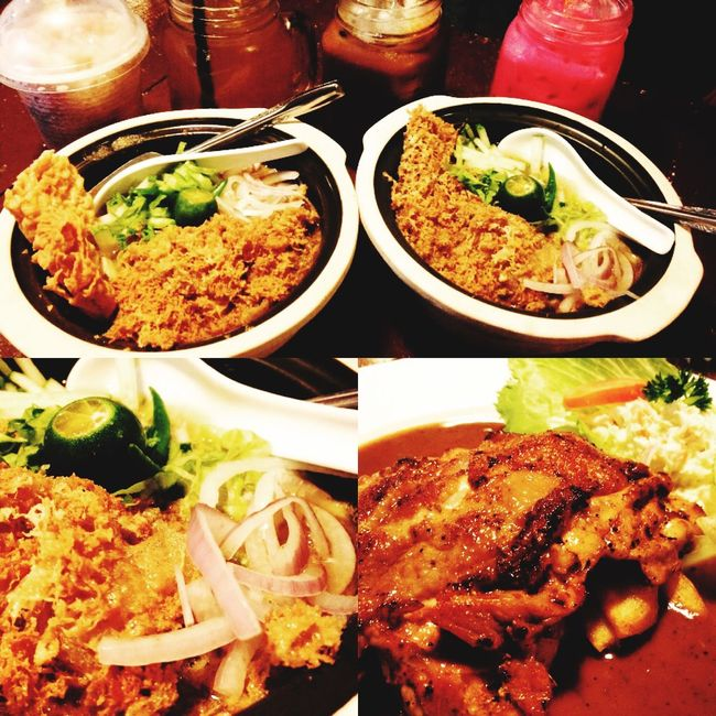 Laksatelur Ipohtown Ipohfood Chicken Chop Lepaking Foodhunting Collage IPhoneography IPhone Foodporn