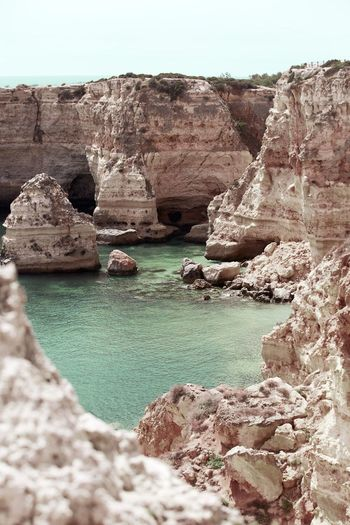 Rock - Object Nature Rock Formation Geology Travel Destinations Tranquility Outdoors Beauty In Nature No People Sea Scenics Day Layered Water EyeEmNewHere