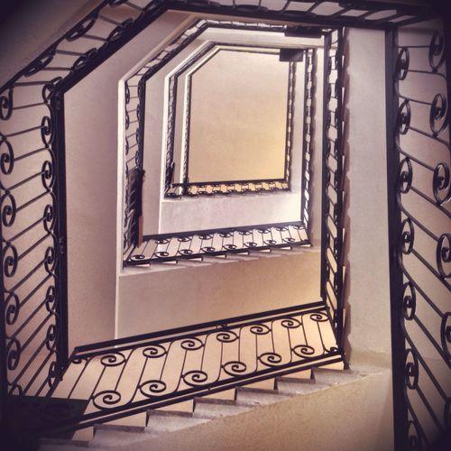 Vertigo Staircase Vertigo From My Point Of View Taking Photos