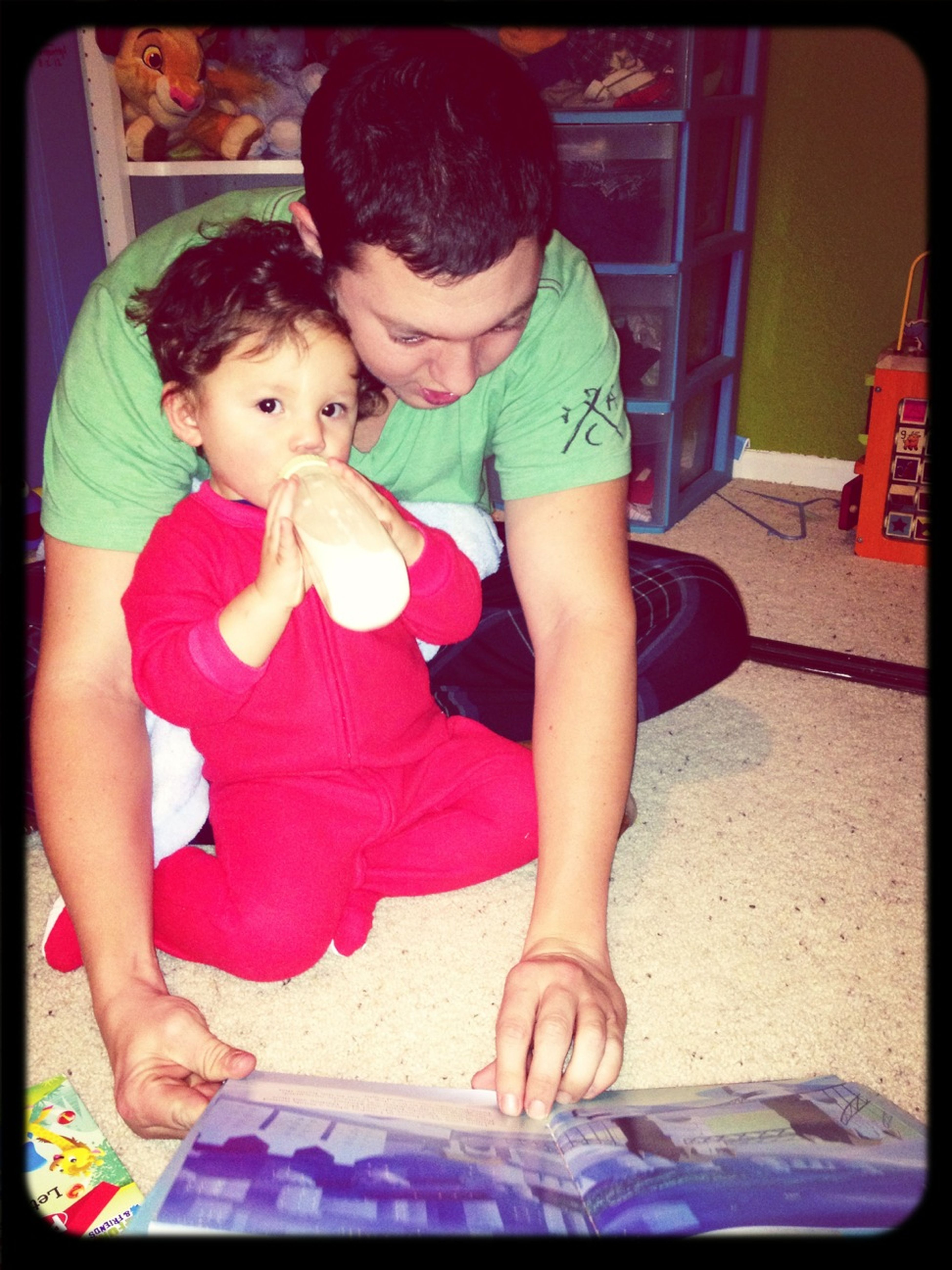 With Uncle Daniel