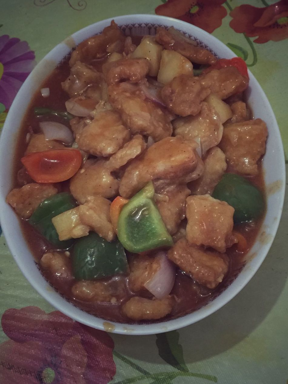 Sweet and sour fish fillet. Dinner Whatsfordinner Whats For Dinner? Fish Fish Fillet Chinese Food Sweet And Sour Sweet And Sour Fish Fillet Homemade Home Cooking Home Cooked Meal