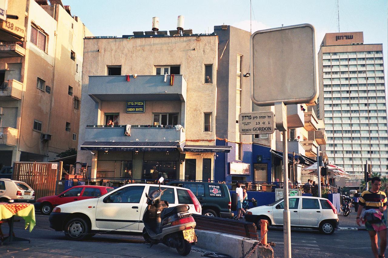 Gordon Hostel, Tel Aviv, 1999 Architecture Building Exterior Car Gordon Hostel Rehov Gordon Transportation
