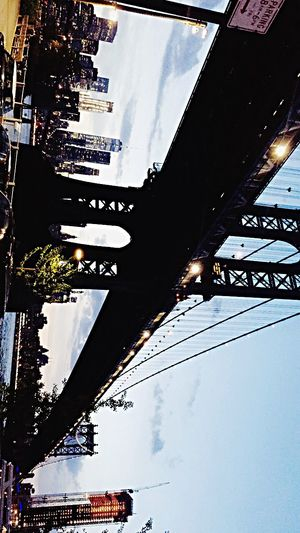 NYC Skyline NYC Photography NYC Street Photography NYC LIFE ♥ Nightphotography Manhattan Bridge One Center City Building Exterior The Street Photographer - 2017 EyeEm Awards EyeEmNewHere