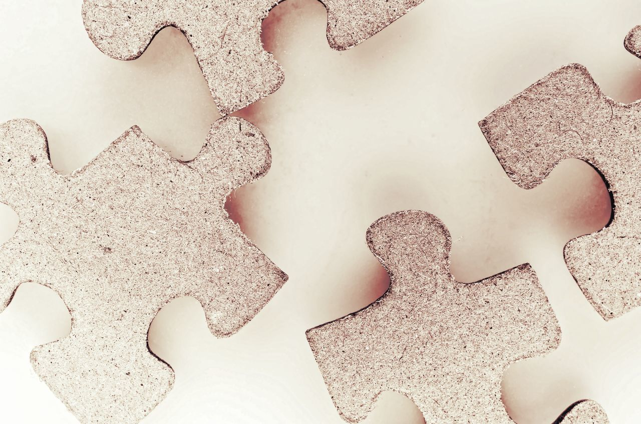 Beautiful stock photos of puzzle,  Challenge,  High Angle View,  Horizontal Image,  Incomplete