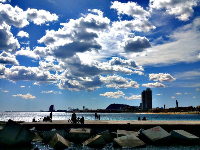 Enjoying Life Landscape_Collection Sky_collection EyeEm Best Shots Barceloneta