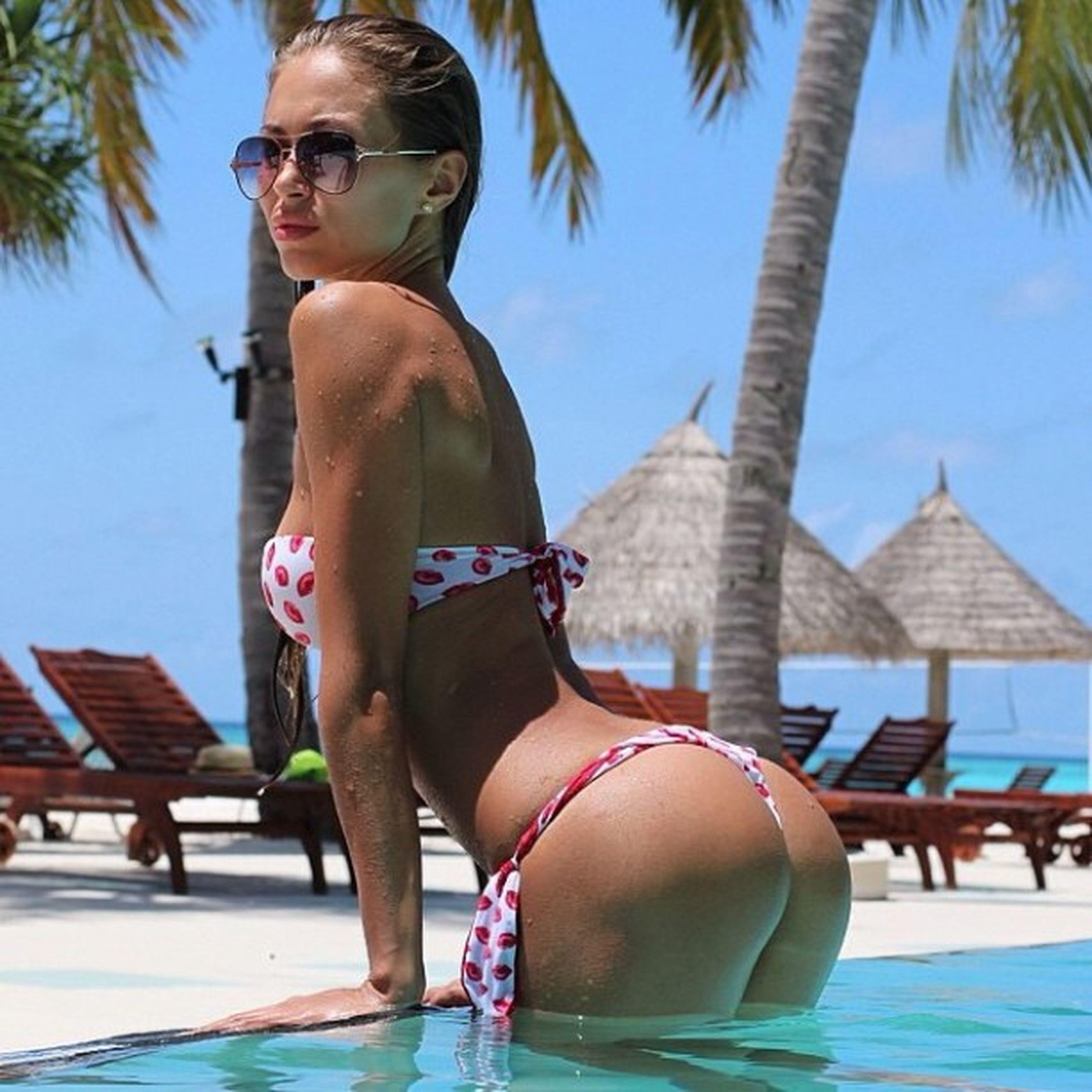 Kemer Sezon Açılısı Yapmış Russian Beach Girl Summer Club