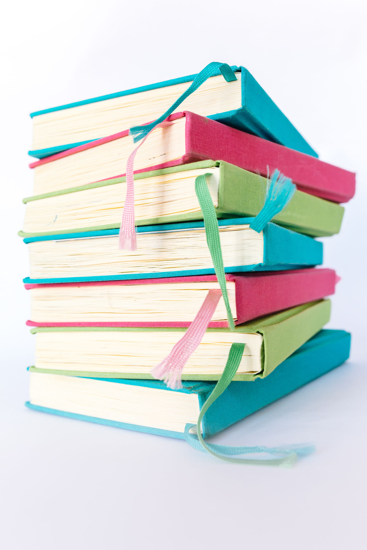 Colorful Books Blue Books Colorful Colors Cyan Education Educational Green Heap Learning LearningEveryday Multi Colored No People Pink Reading Reading Books Reading Time Stack Studio Shot Study Hard Study Time Studying White Background