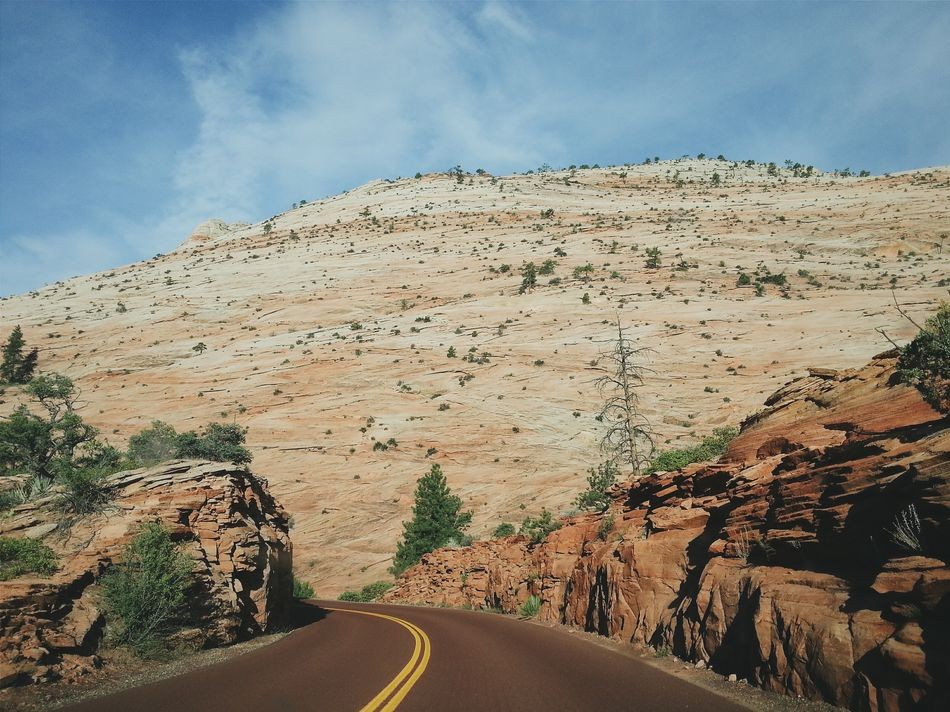 Beautiful stock photos of grand canyon, Beauty In Nature, Country Road, Day, Double Yellow Line