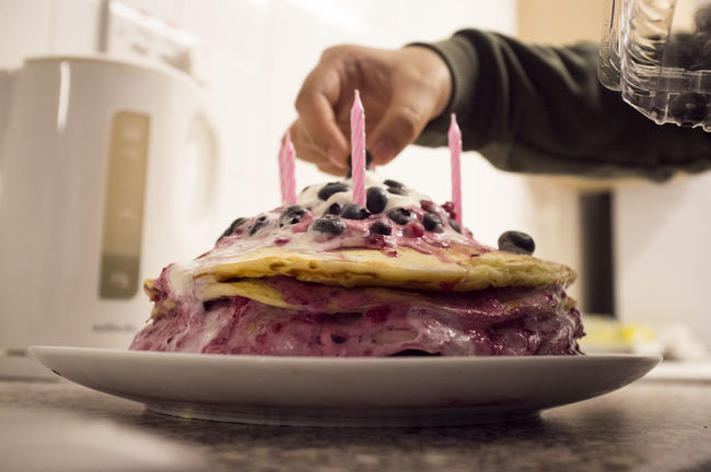 Baking Berries Berry Berry Fruit Birthday Cake Birthday Candles Birthday Party Blueberry Cake Candle Candles Cool Fruit Homemade Kitchen Party People Pink Raspberry Straw Strawberries Strawberry