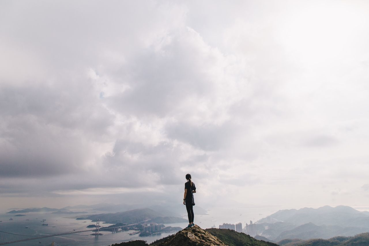 Beautiful stock photos of hong kong, Alone, Cloud, Cloudy, Day