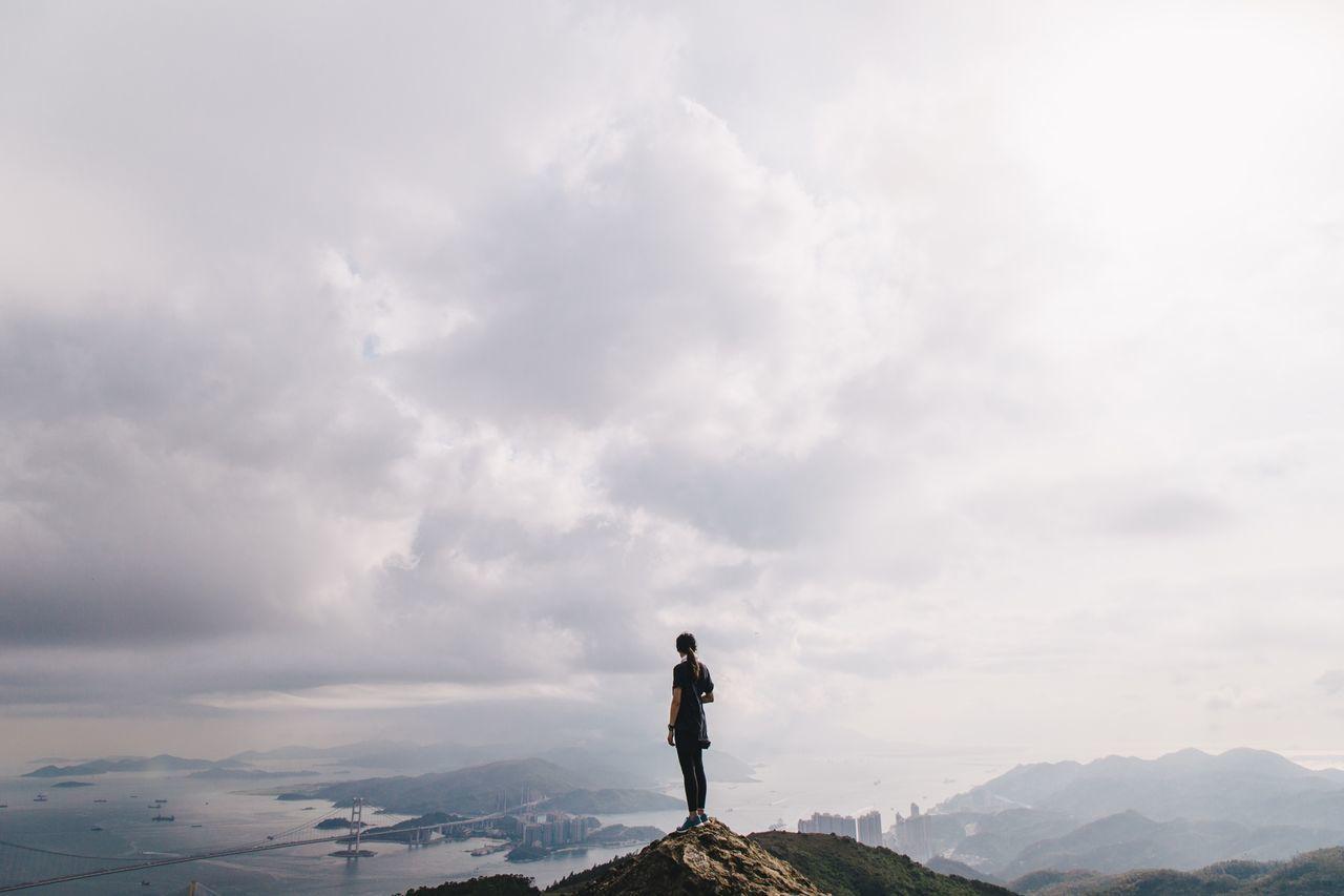 The Traveler - 2015 EyeEm Awards Landscape Mountains Hiking The Great Outdoors - 2015 EyeEm Awards