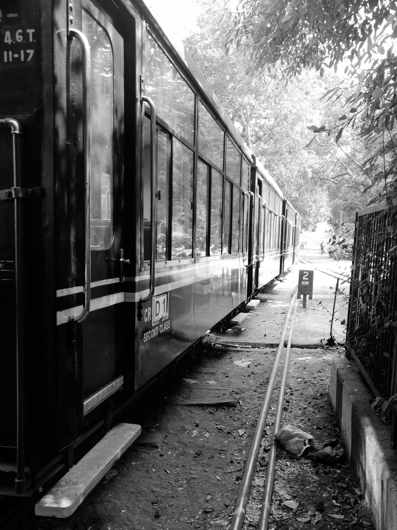 Black Is Beautiful Railroad Track Mini Train Matheran Hills Matherandiaries Railroad Station Platform Transportation Narrowpath