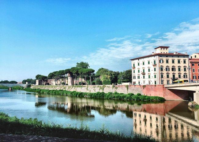 Pisa Pisa, Italy Italy River River View Riverside Walk Walking Walking Around On The Way Arno  Arno River