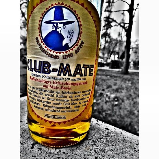 Club Mate Clubmate Drink fresh noinstagramfilter photoshoptouch photooftheday potd