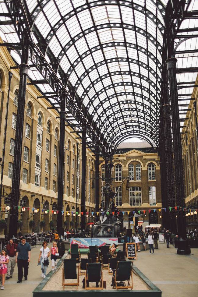 Arcade Arch Architecture Built Structure Ceiling City Consumerism Glass - Material Hay's Galleria Indoors  Large Group Of People Leisure Activity Lifestyles Men Person Retail  Shopping Mall Sitting Tourism Tourist Transportation Travel Travel Destinations Walking London Lifestyle