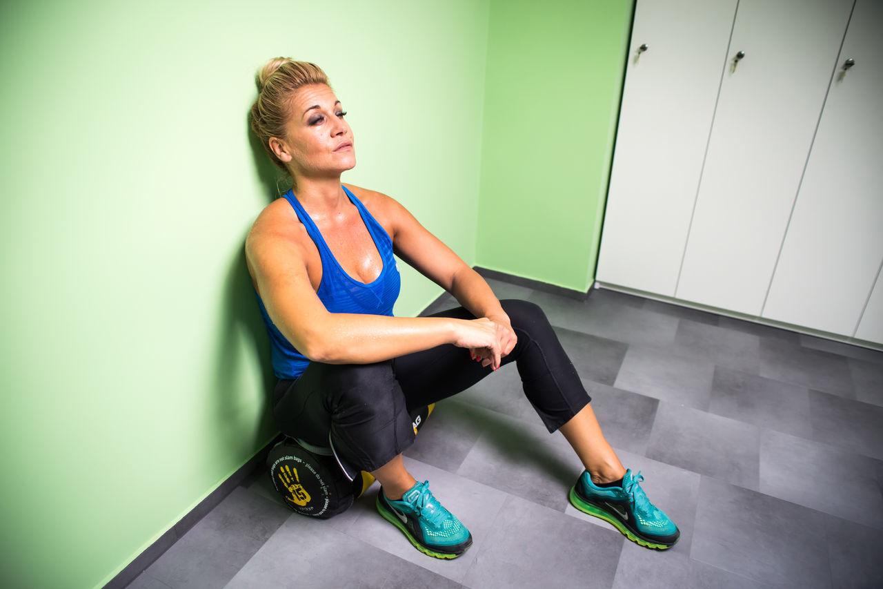 #fitness #fitness #healthy #diet #healthy #lockerroom #earlier #beforegame #sport #SweatPants & #Hoodie Type Of Night ❤ #woman Athleisure People And Places