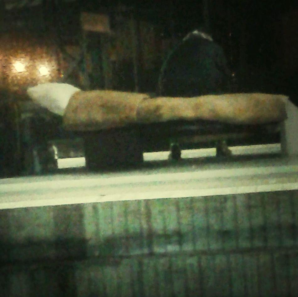 @Homeless Sleeping @people