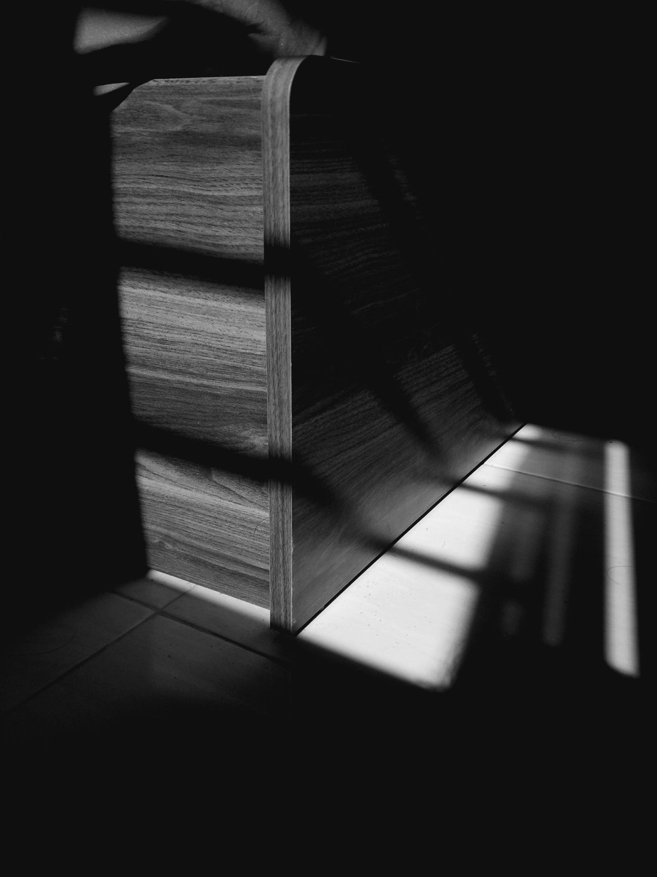 Morning sun over the window Shadow Indoors  Sunlight No People Close-up Day Pattern Morning Shadow And Light Blackandwhite Bedroom Wood - Material