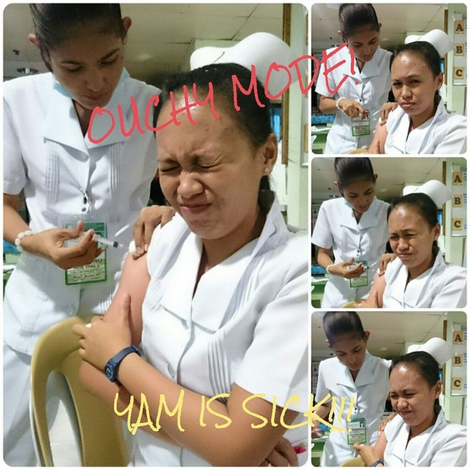 YAM IS SICK! ImmunityDown Im TummyAchesAttacks