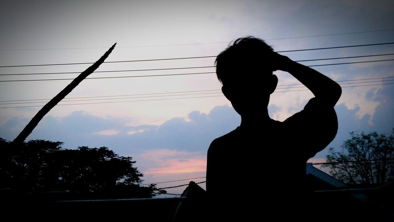 Silhouette Joyoboyo Gang Lapangan Kediri Kedirikekinian Kedirikeren Kedirikusukasuka First Eyeem Photo
