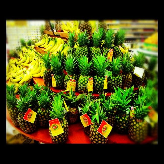 Power Foods (^_^) Iphonesia Instagram Pineapple ShoutOut Followme Iphonography Ig Igers IPhone Instaaaaah Food Instagrammers Colors Popularpage Cocktail Instacool Epic Delmonte Banana Yellow Exotic