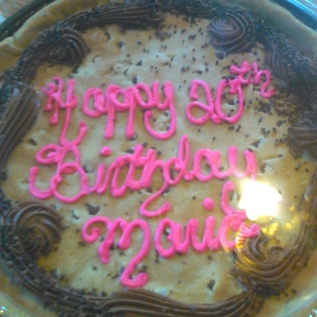 Birthday Cake Cookiecake
