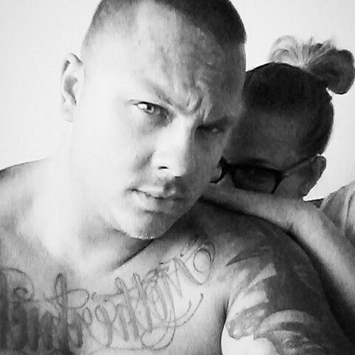 When you are sick and you can be whole day with him 😍😘 Sickday Withmylove Love Mybeast Madafaka Onchest Tattoo Boy Czechboy Czechgirl Lookathim Badboy Blackandwhite Brno Hebeautifulycaresaboutme You & Me