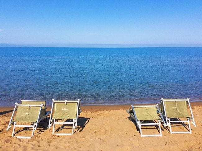 Beach Blue Clear Sky Horizon Over Water Relaxation Sea, Summer, Love Seascape Tranquility Vacations Water