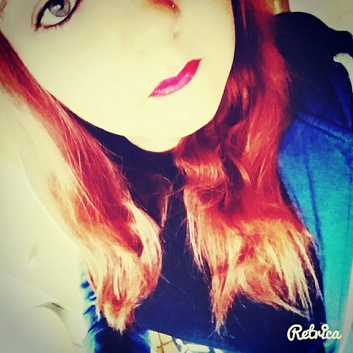 Lilalips Greeneyes Orange Hair Weekend Love ♥ Beauty Like4like Follow Me On Instagram ♥ Like My Photos On Instagram Kiss Kiss ❤