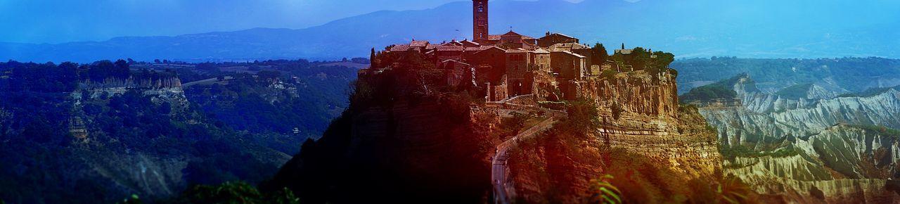 Umbrien Civita Di Bagnoregio Stadt Panorama Panoramic Photography Panoramic View Italia Outdoor Fotografie Fotography Fotografia Photo Photography Photooftheday Photographer Foto