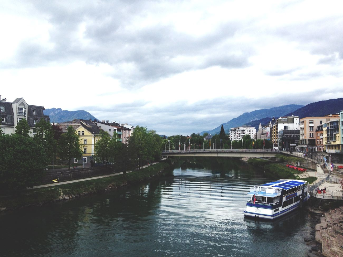 Villach Where I Grew Up Clouds