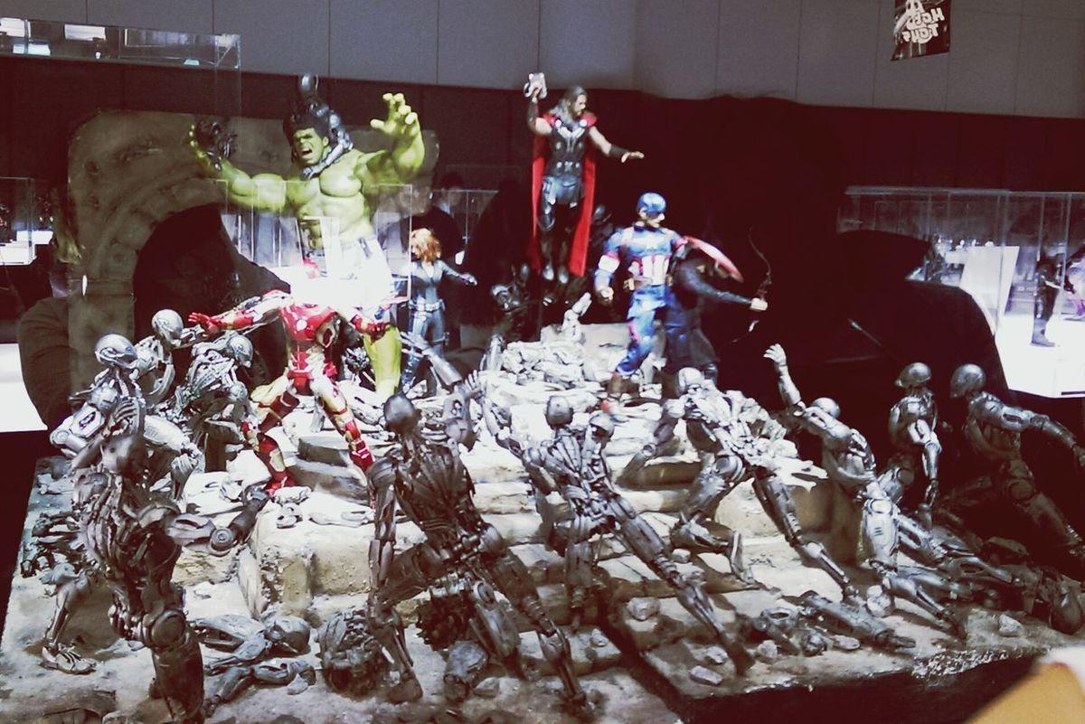Ironman Avengers Avengers2 Hot Toys Figures Marvel Thor  Hulk Captainamerica