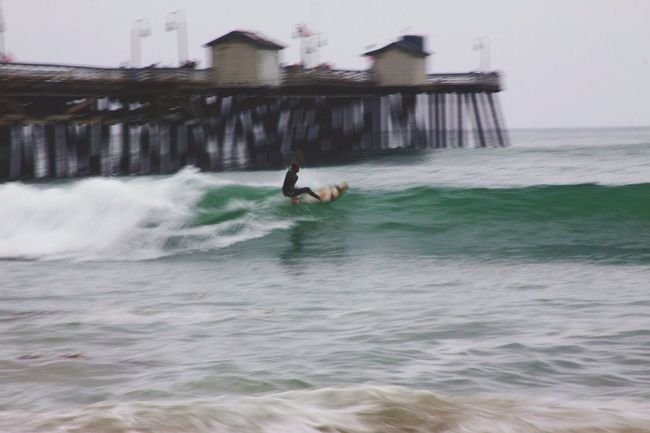 Surfing Surfer Catching Waves San Clemente Beach Beach Life Beach Photography Beach Day Ocean Ocean Waves Action Action Shot  Surf Surf Photography Photography In Motion Alternative Fitness The Great Outdoors - 2016 EyeEm Awards Need For Speed