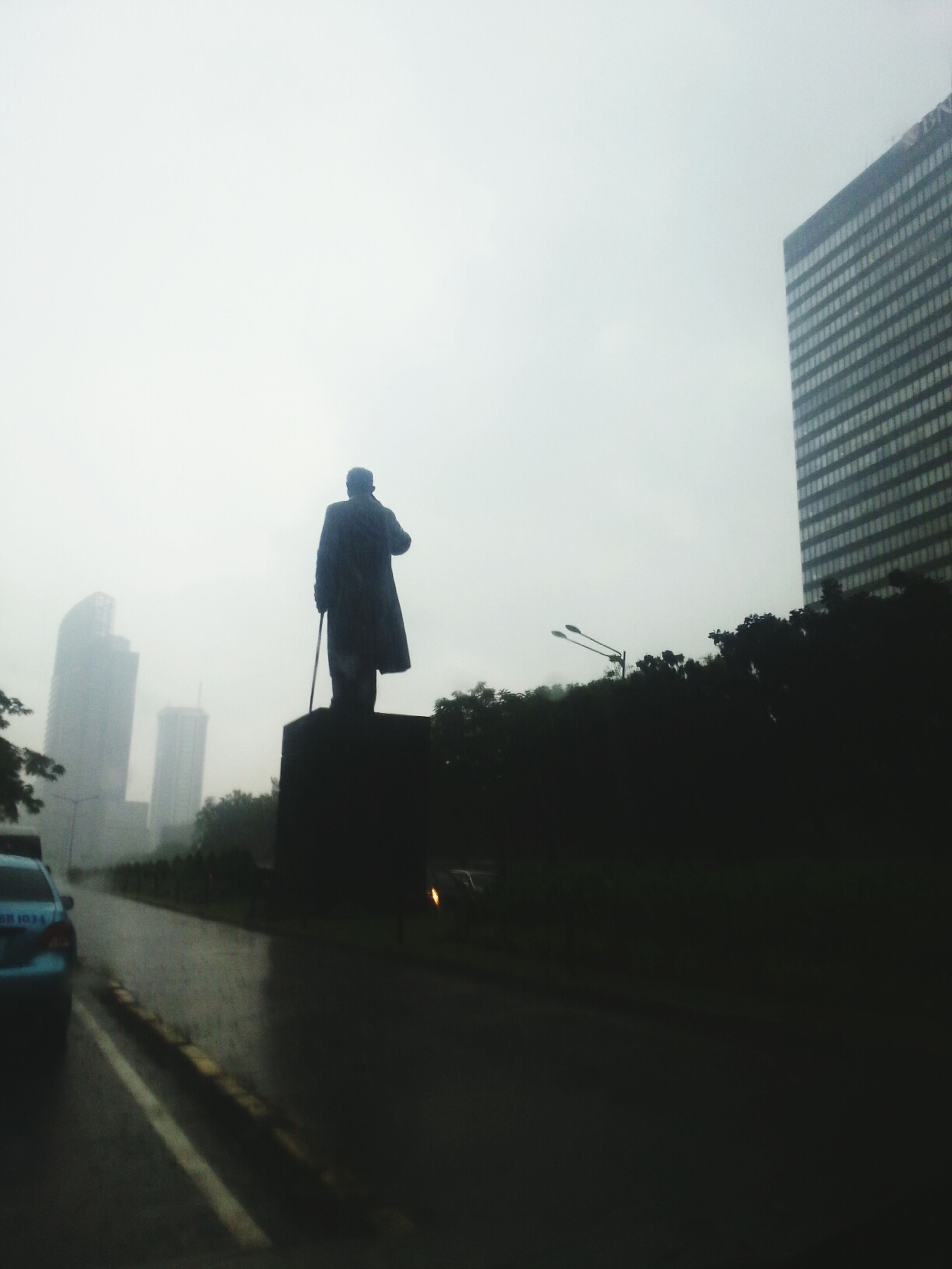 Jendral Sudirman Standstill in Heavy Rain Our Hero