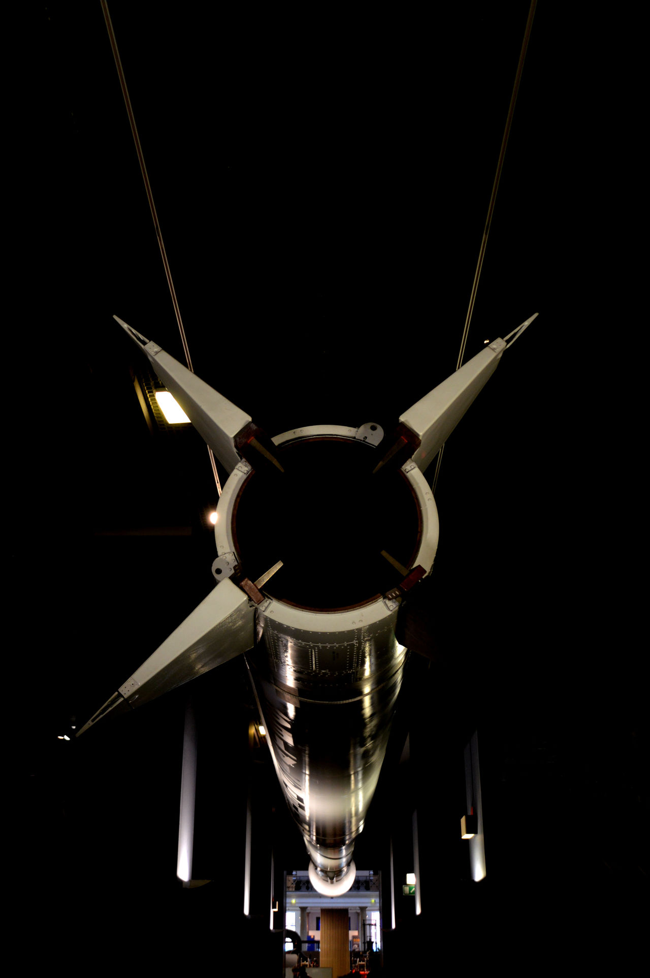 Aerospace Industry Black Background Close-up Electricity  Industry Innovation No People Rocket Science ScienceMuseum Shiny Technology