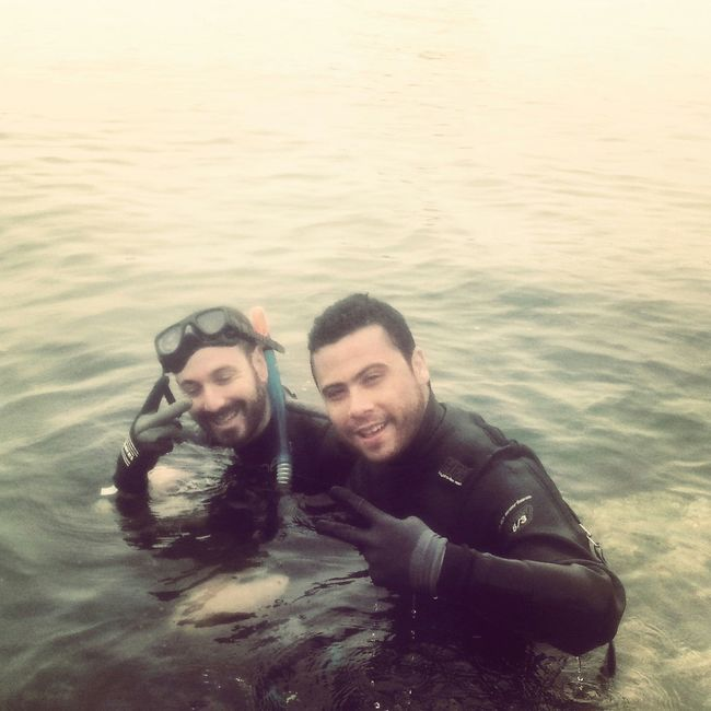 Diving Enjoying Life Cool That's Me Relaxing Today's Hot Look Sea Withfriend Lets Go To Diving Swimming