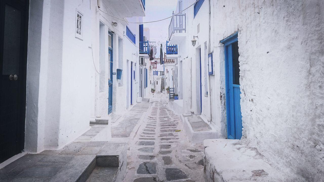 Mykonos Greece Mykonostown White Town First Eyeem Photo