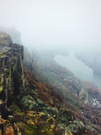 Fog Mystery Canyon Idaho