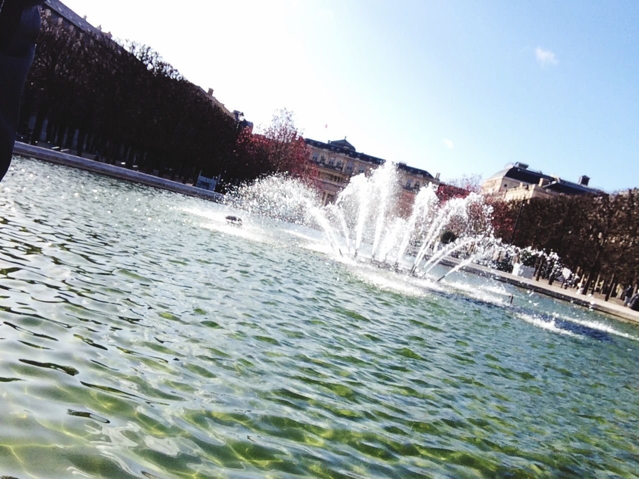 water, motion, waterfront, splashing, day, outdoors, nature, spraying, clear sky, beauty in nature, no people, scenics, power in nature, waterfall, wave, sky