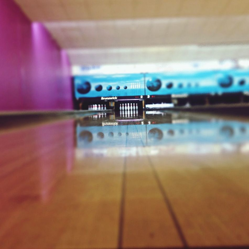 "Time To Reflect Time To Aim Bowling ""le but à atteindre"""