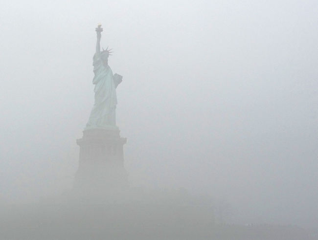 Still Standing Foggy Day Freedom Freiheitsstatue Gateway Gateway To Freedom Historical Monuments Lady Liberty Landmark Landscapes With WhiteWall National Monument New Life New Life & New Hope NYC Harbour NYC Photography Port Of Entry Sea And Sky Silhouette Collection Statue Statue Statue Of Liberty Eye4photography  EyeEm Gallery EyeEm Battle Of The Cities Modern Vintage