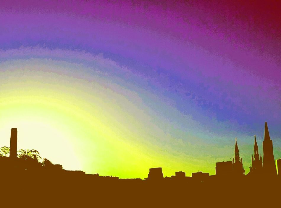 Sunrise in Sanfransisco