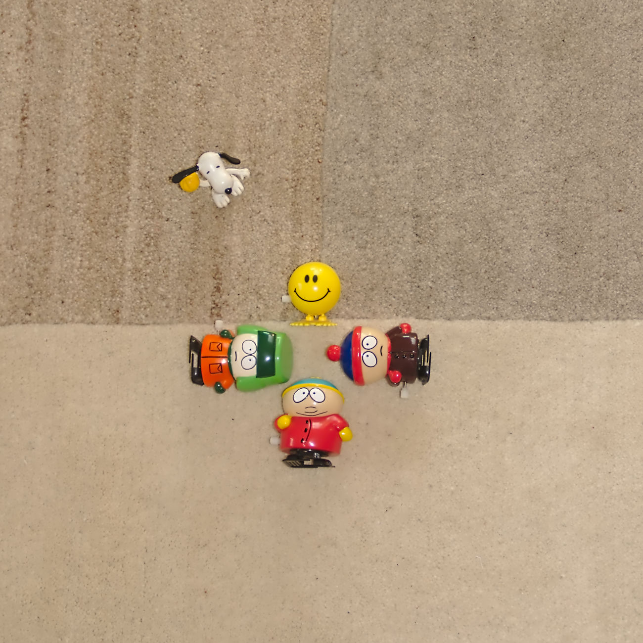 at the playground ④ : ) Best Friends Cartman Catch The Moment Central Eric Faces Figurine  Flying High From My Point Of View Fun Geometric Shapes High Angle View Kayl Multi Colored Nikon Red SMILY FACE Southpark Sports Photography STAN Still Life Telling Stories Differently Toy Adventures Yellow
